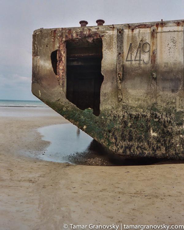Port Winston at Arramanches