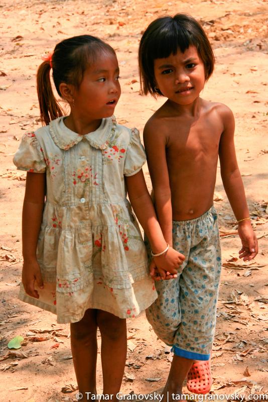 Children at Bung Melea