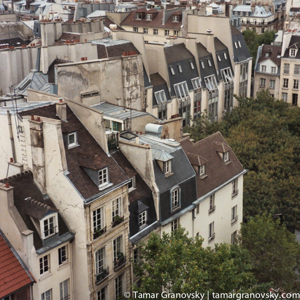 View from le Centre Pompidou
