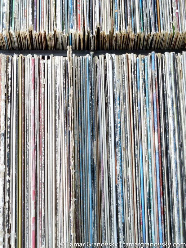 Records, Rue St. Denis, Montreal, Quebec, Canada