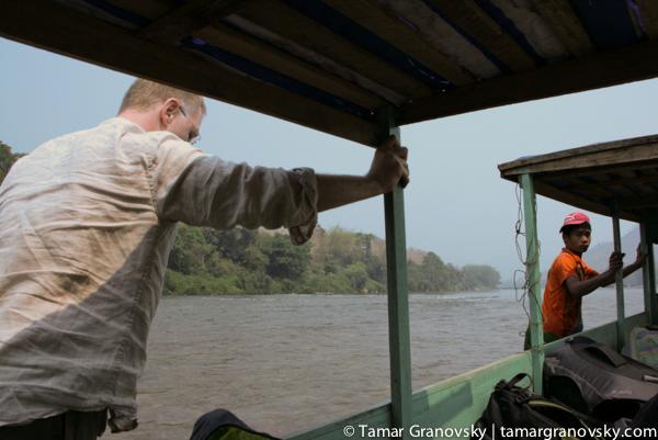 Pushing the boat