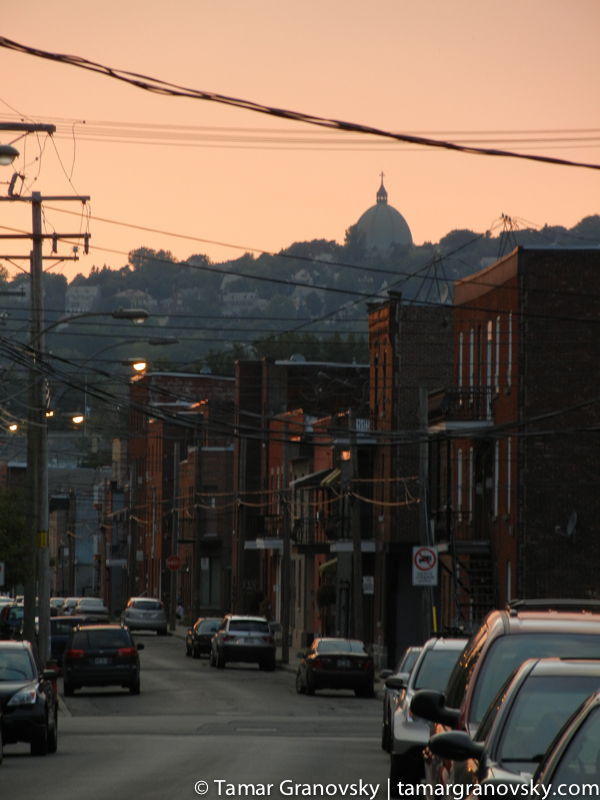 Montreal at Dusk from St. Henri