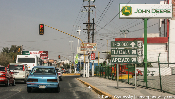 Toward the City of Texcoco
