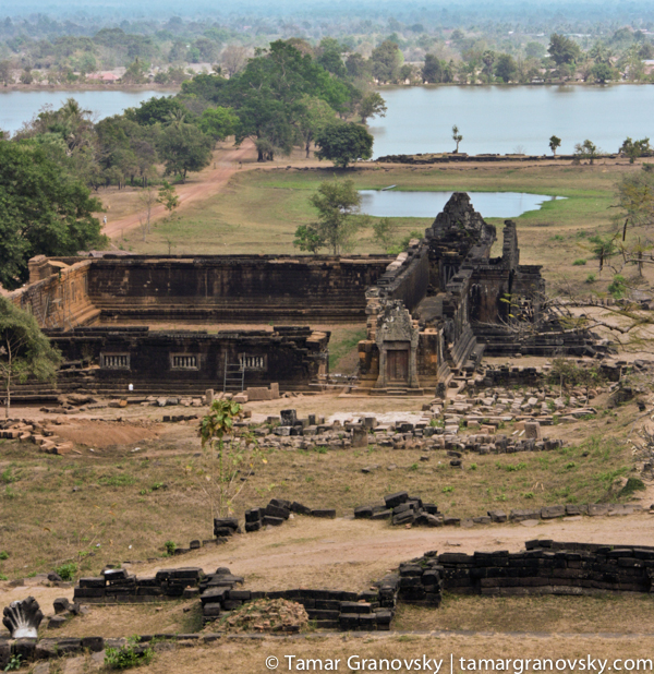 Wat Phou - view from the top