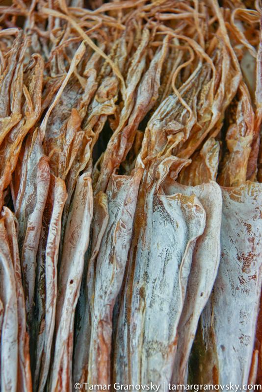 Dry Squid, Hong Kong