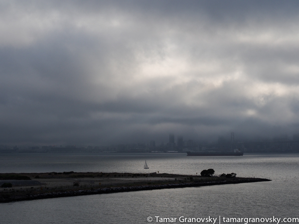San Francisco Seen from the Port of Oakland