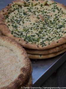 Flat Breads (savoury)