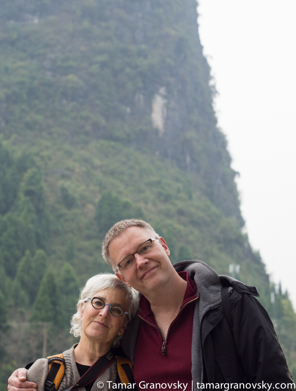 Travels with Steve in China (Here we are in Xingping, Guangxi Province)