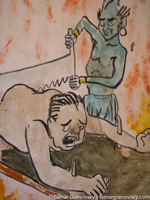 Guandu Zhen Temple - Hell