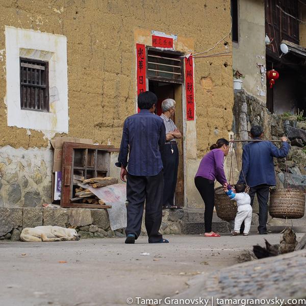 Fujian, Chuxi, Street Scene