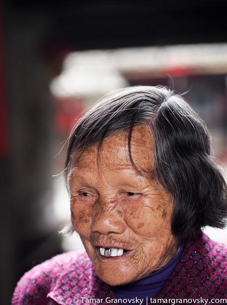 Woman, Nanxi, Fujian Tulou, Fujian, China