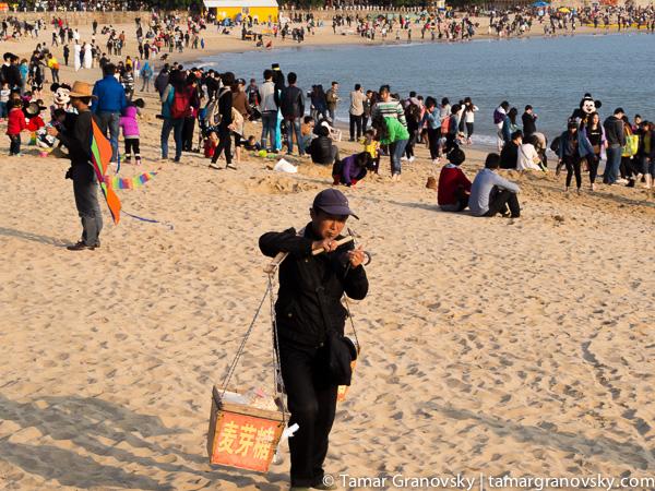 Xiamen, Baichang Beach, Fujian