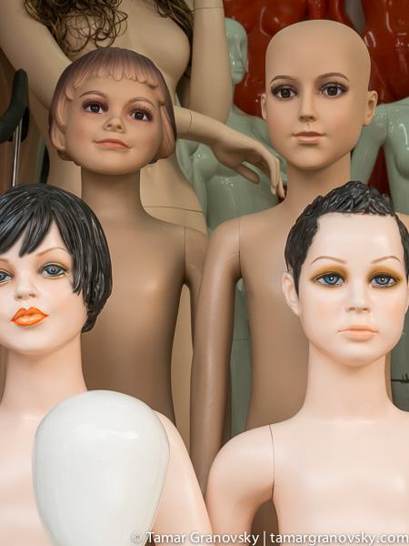 Hanoi (mannequin shops are a common site)