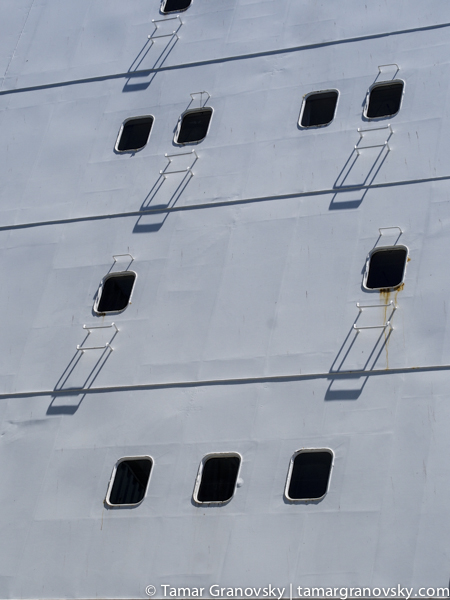 Room Windows, Cargo Ship
