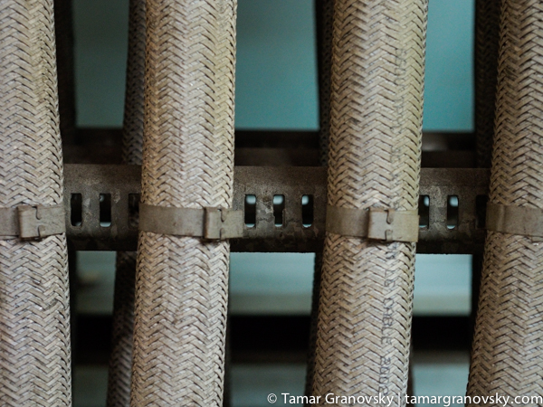 Electrical Power Line Cable, Cargo Ship Engine Room