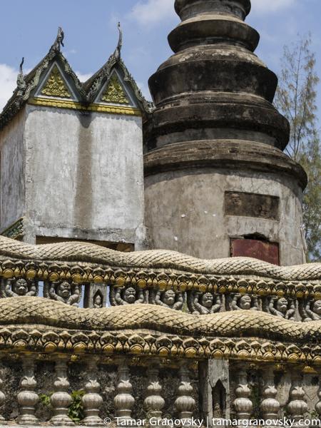 Kampong Cham, Phnom Pros