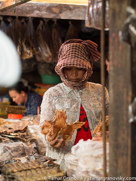 Kampot, Market