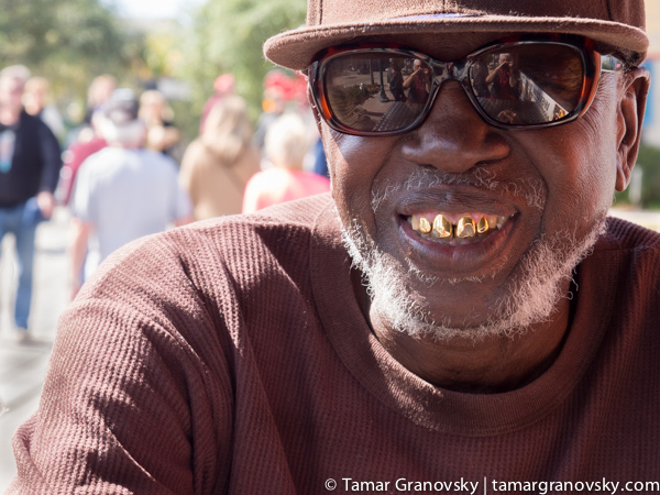 The Man with the Gold Teeth, Del Ray Beach