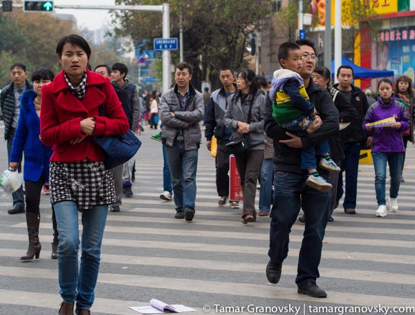 Walking Kunming