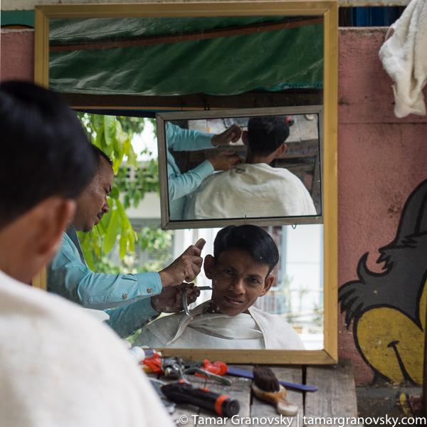 Open Street Barber, Phnom Penh, Cambodia