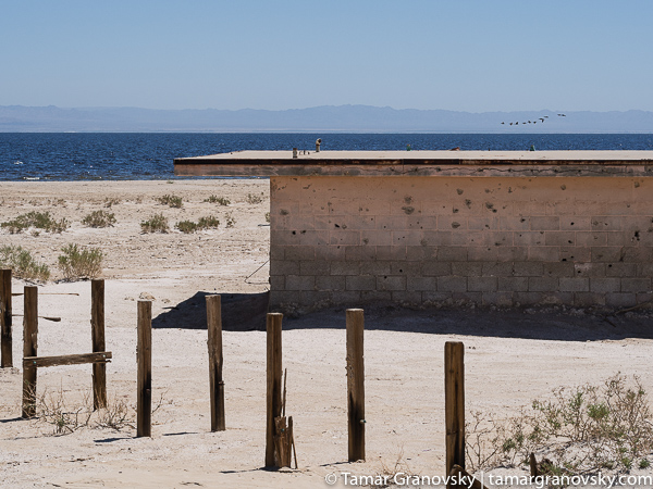 Naval Test Site. Salton Sea. California