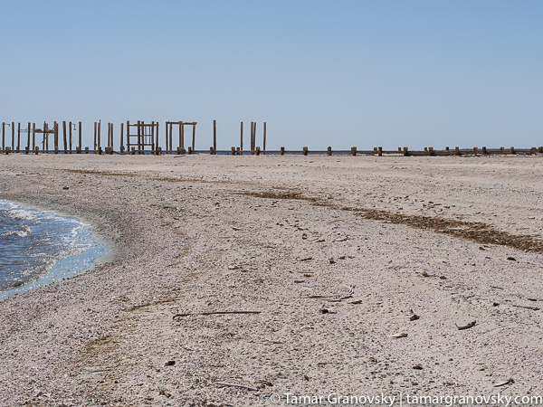 Naval Test Site Pier. Salton Sea, California